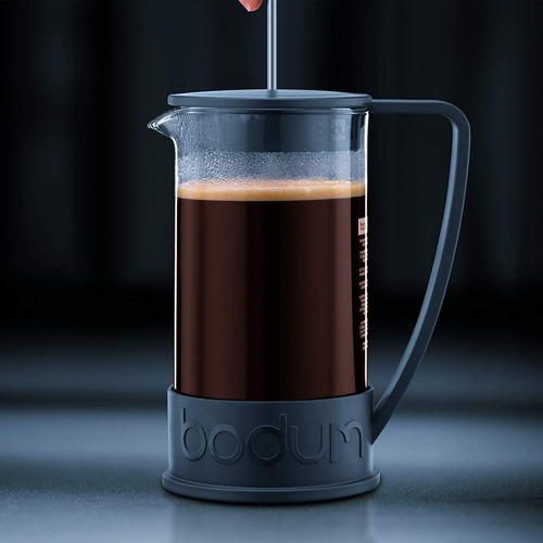 cafetera  bodum  1 lt 8 pocillos brazil negra d10938-01