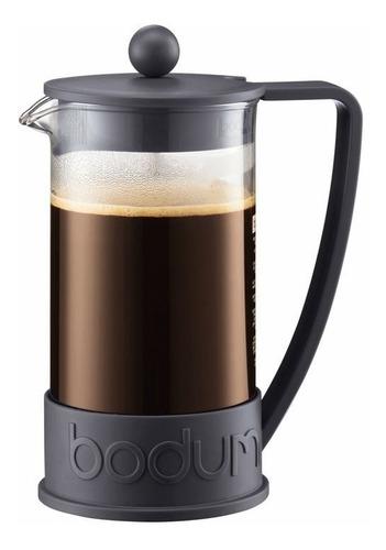 cafetera bodum brazil 8 tazas 1 litro embolo negro