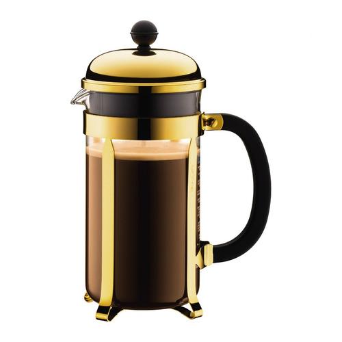 cafetera bodum chambord oro gold 1 litro 8 pocillos