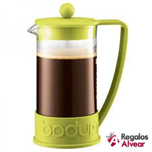 cafetera bodum new brazil 8 pocillos original con embolo
