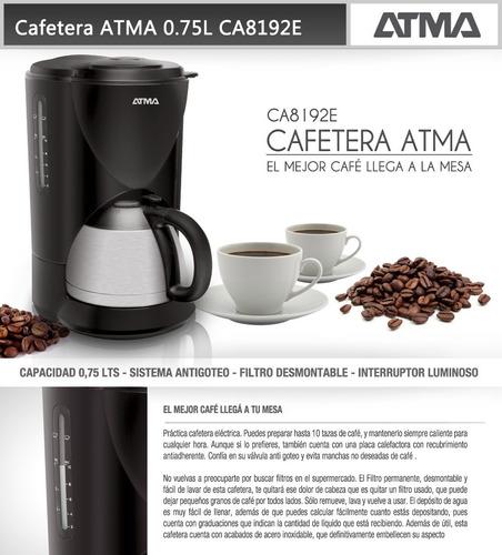 cafetera ca8192e atma