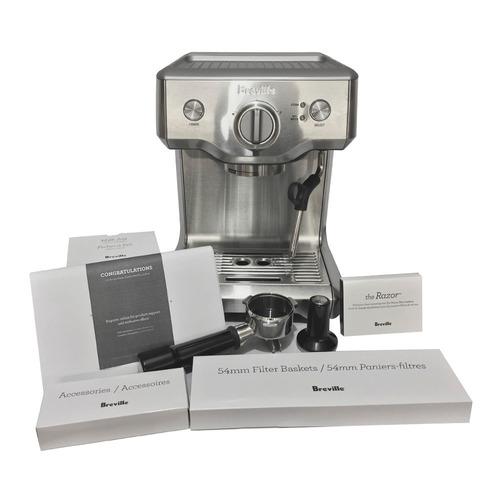 cafetera cafeteria bes810bss espreso espresso capuchino