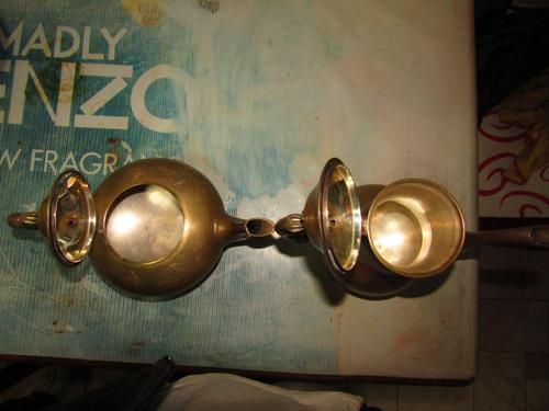 cafetera colonial bañada en plata epns ingles