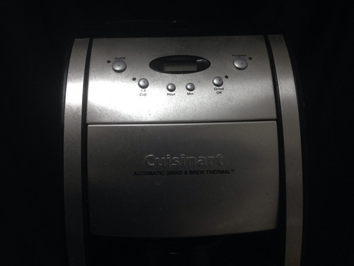 cafetera cuisinart