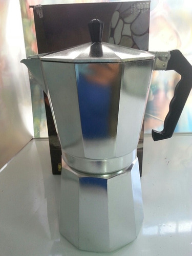 cafetera de aluminio de 12 taza tipo greca