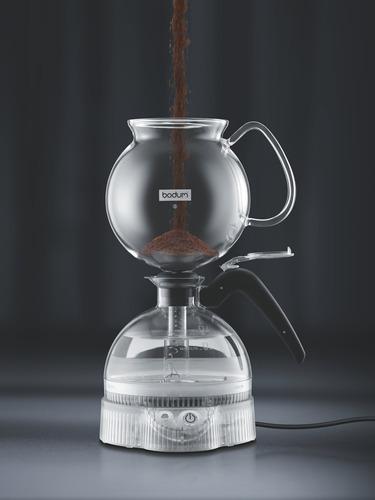 cafetera de café expreso bodum epebo, eléctrica, con