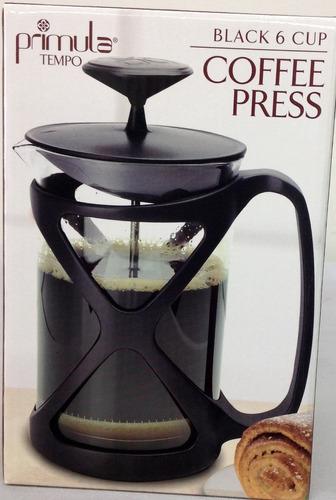 cafetera de embolo primula  6 tazas café francés a piston