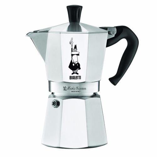 cafetera de espresso bialetti 6 tazas *envío gratis