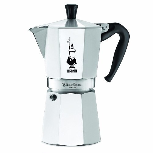 cafetera de espresso bialetti 9 tazas *envío gratis