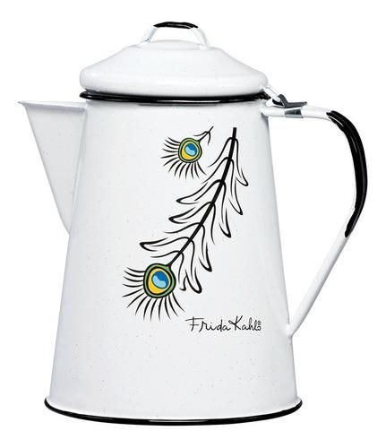 cafetera de peltre tradicional 2 litros, edición especial