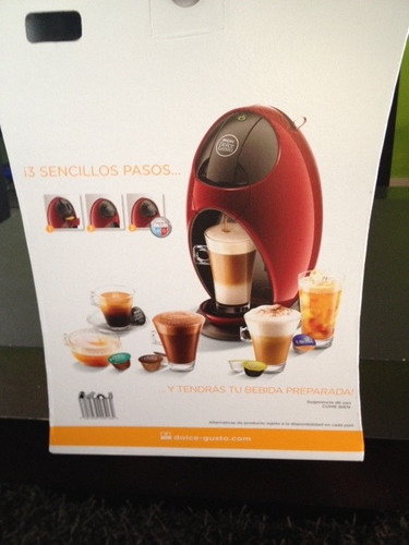 cafetera dolce gusto,