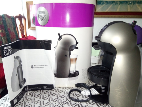 cafetera dolce gusto modelo 9744  gris