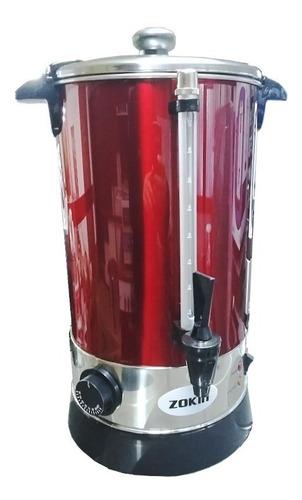 cafetera electrica 10lt zokin regulador termostato ac. inox.