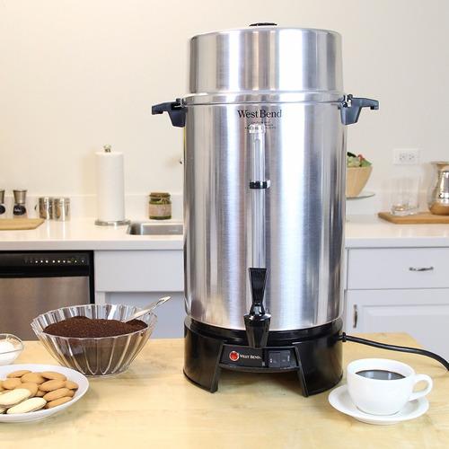 cafetera electrica c/llave west bend 33600 100 tazas comerci