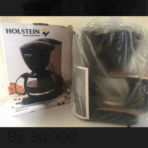 cafetera electrica holstein de 6 tazas