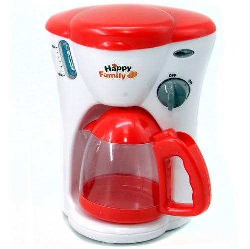 cafetera electrica juguete luz sonido nueva cod 3125 bigshop
