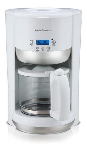cafetera electrica kelvinator 1.25l cmt630 con timer