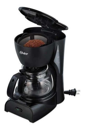 cafetera electrica  oster dr5b p/4 tazas filtro permanente