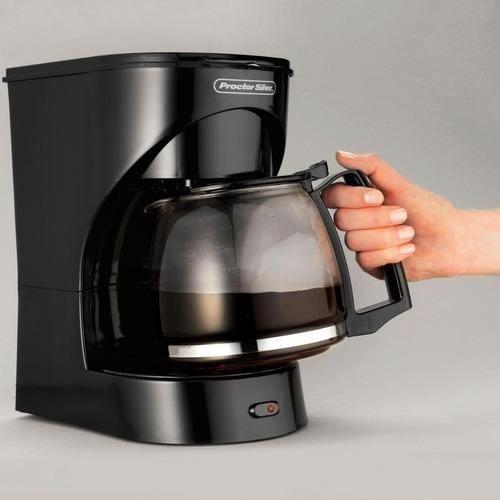 cafetera eléctrica proctor silex 12 taza y filtro permanente