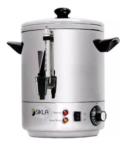 cafetera electrica sikla dk500 acero inox 5 lts 30 pocillos