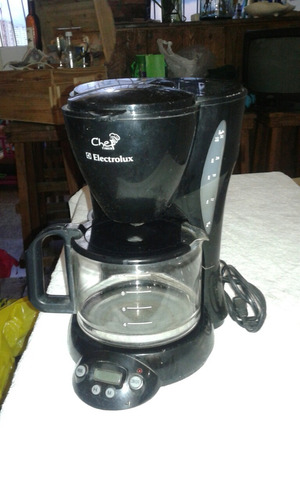 cafetera electrolux chef time.