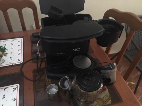cafetera espresso, capuccino, latte krups