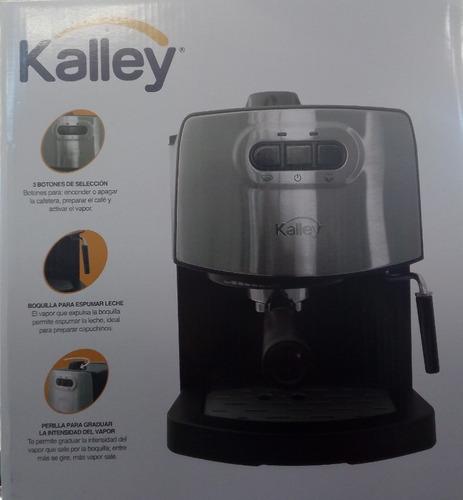 cafetera espresso marca kalley 100% original