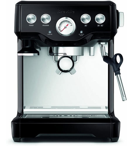 cafetera expres breville the infuser semi-automatic / negra