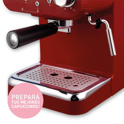 cafetera express 20 bar peabody ce5003 alta recuperación *