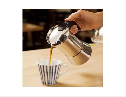 cafetera express bialetti acero inoxidable + envío gratis