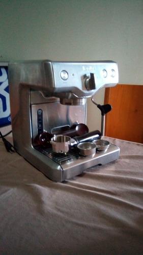 cafetera express marca breville