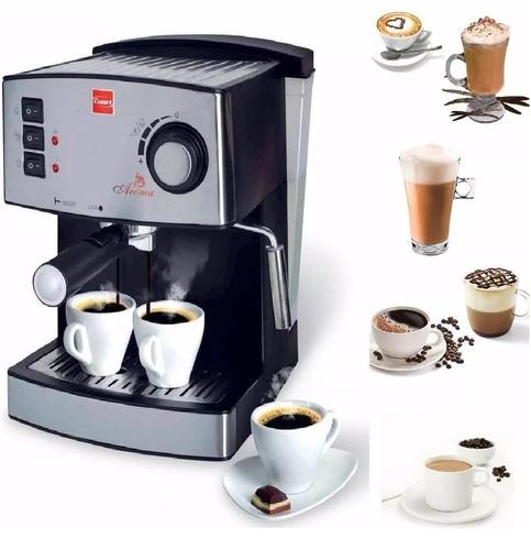 cafetera expresso cafe capuccino 15 bares 1,25 lt espumador