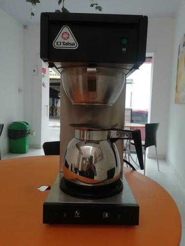 cafetera expresso + cafetera de goteo + moledora de cafe