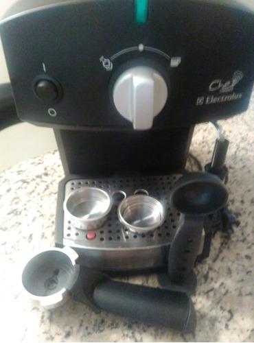 cafetera expresso capuccino electrolux chef crema 50$