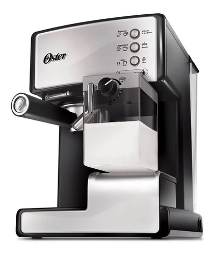 cafetera expresso oster prima latte 6602 15 bares tecnofast