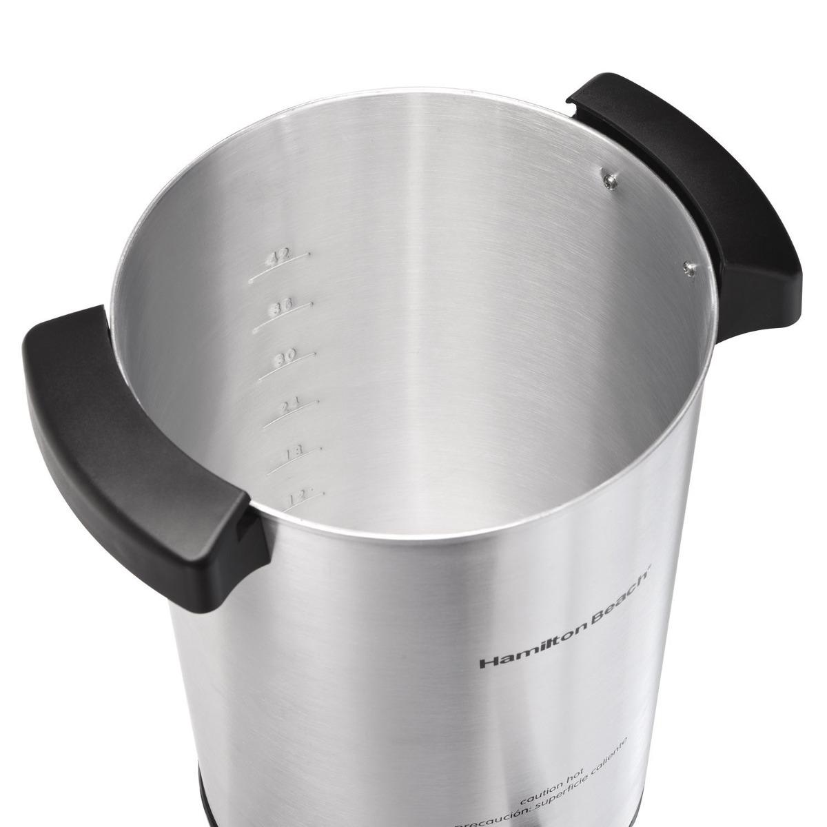 Cafetera Hamilton Beach 40515 42-cup Coffee Urn Silver