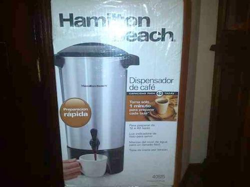 cafetera hamilton beach / 42 tazas nuevas.