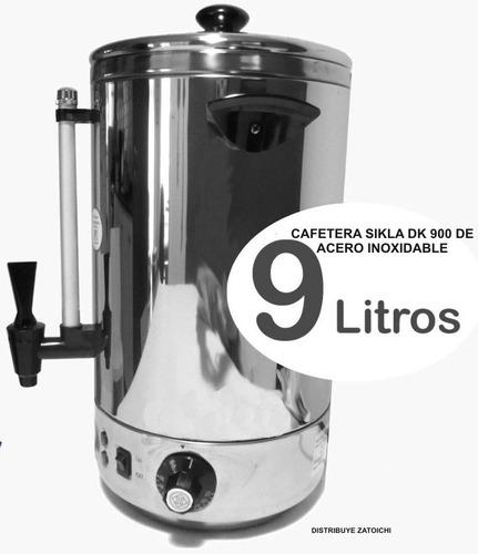 cafetera infusionadora sikla dk-900 9 lts 60 pocillos.