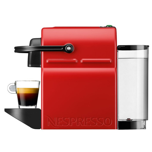 cafetera inissia us red c40 - marca nespresso tdt