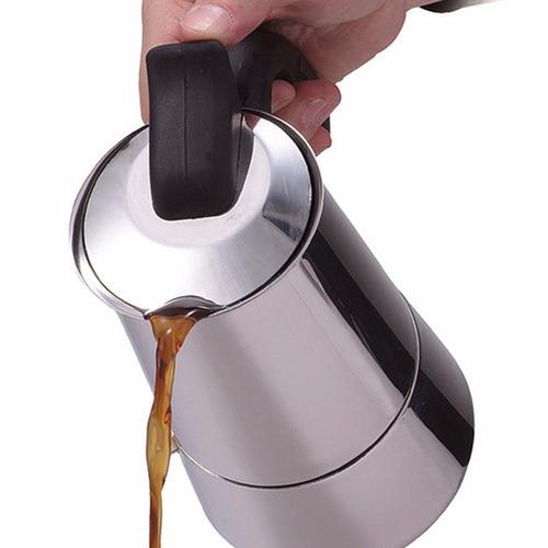 cafetera italiana 6 taza cafe express espresso *envio gratis