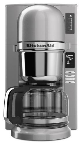 cafetera kitchenaid 8 tazas plateada 220v