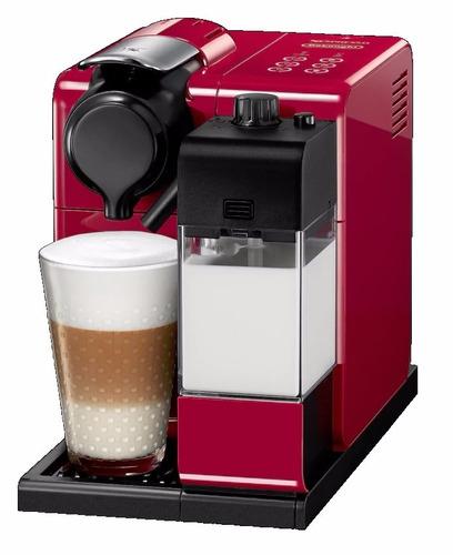 cafetera lattissima touch red nespresso cafe