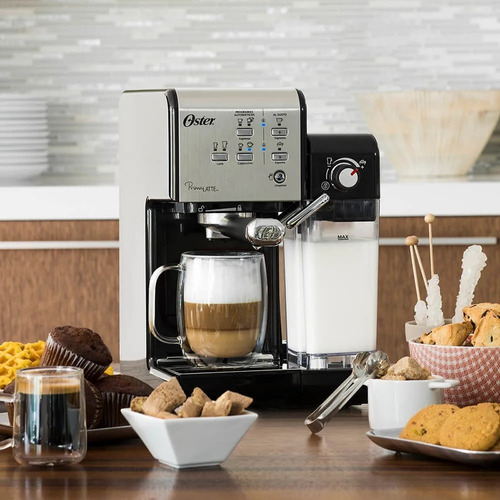 cafetera manual express oster 2 primallate 19 bares 1.5 l
