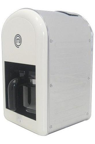 cafetera masterchef automatica 1200 watts acero inox.
