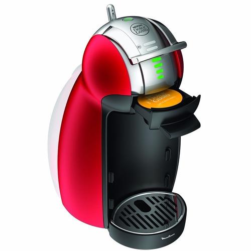cafetera moulinex dolce gusto genio 2 roja pv1605 automatica