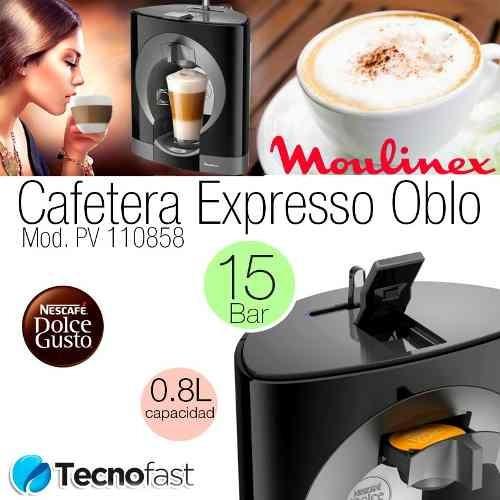 cafetera moulinex nescafe dolce gusto oblo 1340w manual