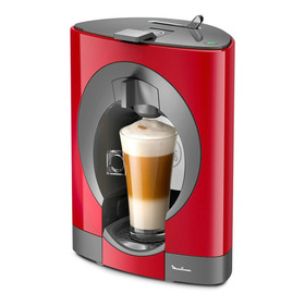Cafetera Moulinex Nescafé Dolce Gusto Oblo Roja 110v