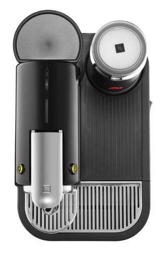 cafetera nespresso d121-us-bk-ne1 con aeroccino capuccino