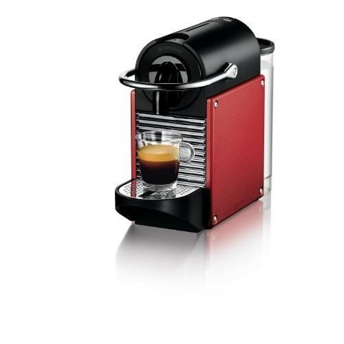cafetera nespresso pixie d60 espressos, de ladrillo rojo re