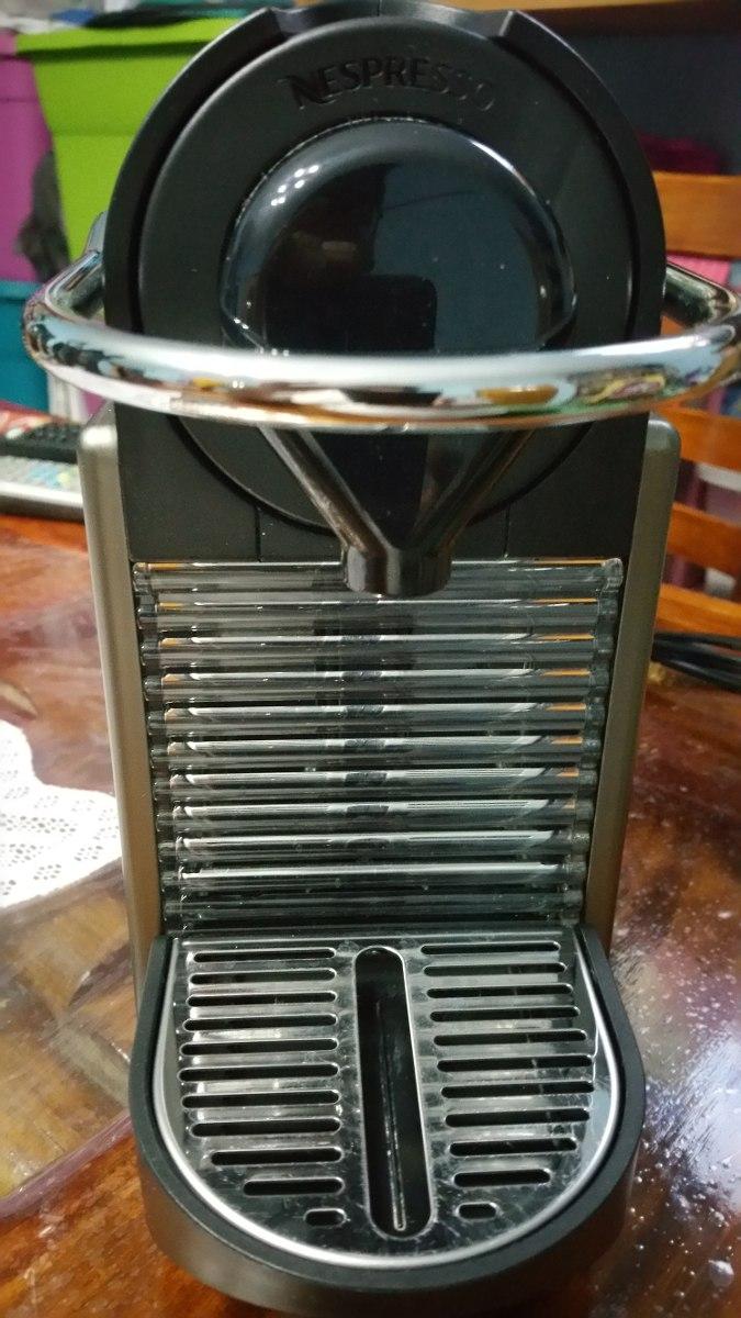 Cafetera Nespresso Pixie Seminueva Meses De Uso En Caja